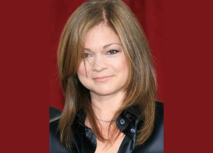 Valerie Bertinelli - Young hairstyle for long hair