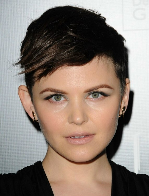 Ginnifer Goodwin Short Clipper Cut High And Tight Haircut
