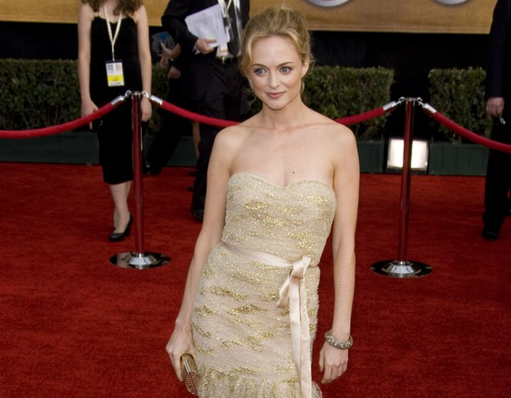 Heather Graham - Young look for formal occasions