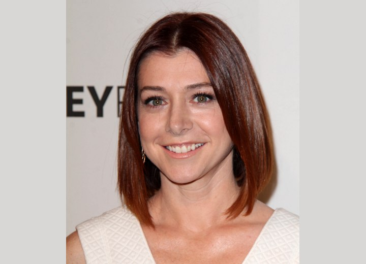 Alyson Hannigan's new bob haircut