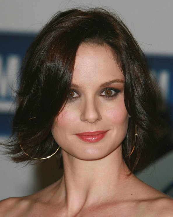 Sarah Wayne Callies Easy Medium Length Hair Layers