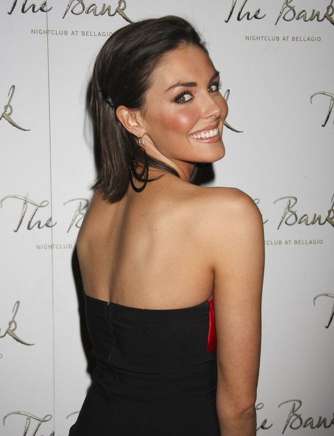 Taylor Cole With Hair Brushed Back Away From The Face And