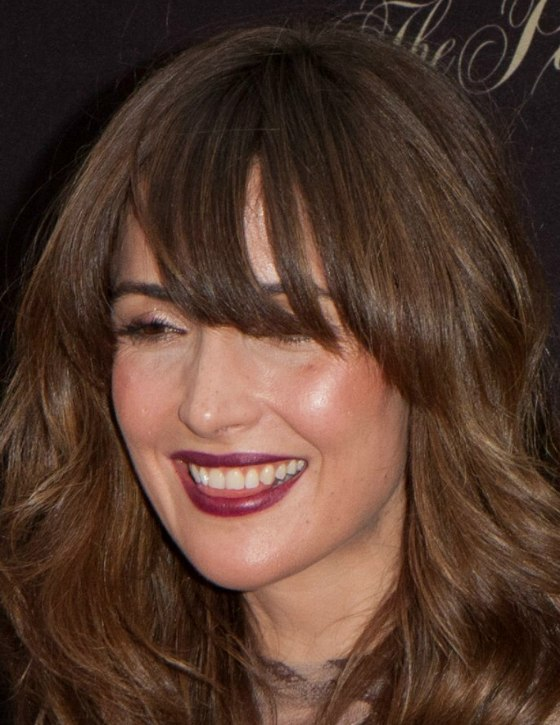 Rose Byrne Wearing Her Long Hair With A Zigzag Wave And