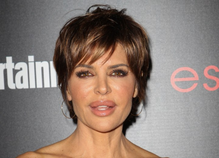 Pixie for older women - Lisa Rinna