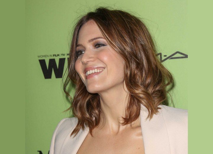 Mandy Moore - Shoulder length bob hairstyle