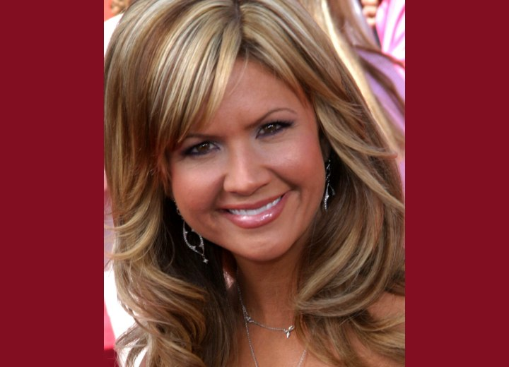 Close up photo of Nancy O'Dells hair