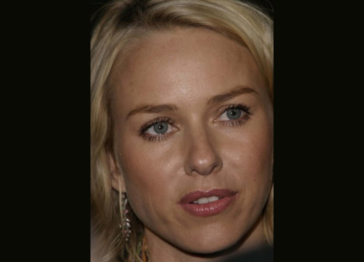 Naomi Watts forehead and hairline