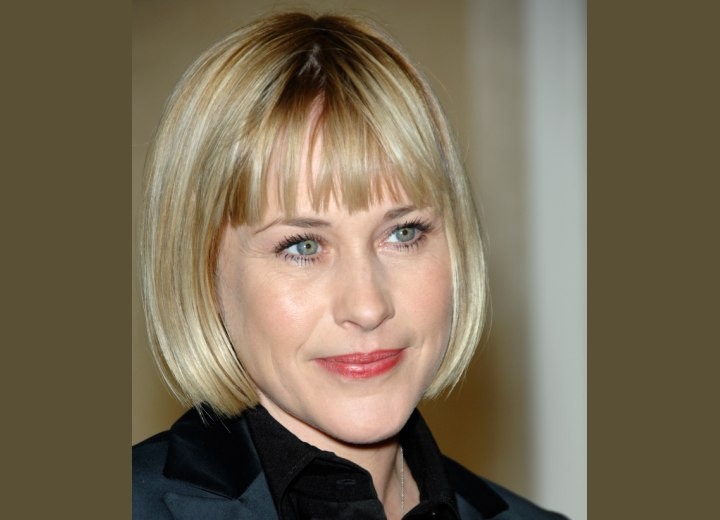Hairstyle for hard-working women - Patricia Arquette