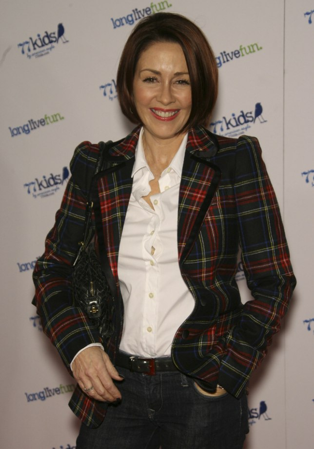 50 Year Old Patricia Heaton S Chin Length Bob Haircut
