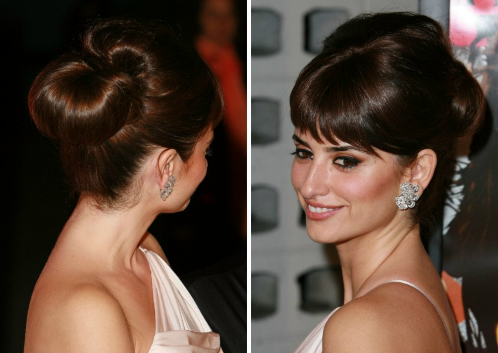 Celebrity Formal Hairstyles How To With Penelope Cruz And Ines Sastre