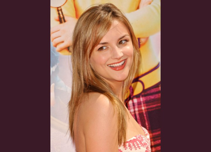 Carefree long hairstyle - Rachael Leigh Cook
