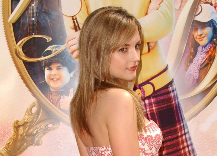Long hair with a grown out feel - Rachael Leigh Cook