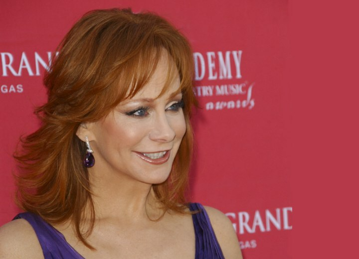 Hairstyles for older women - Reba McEntire