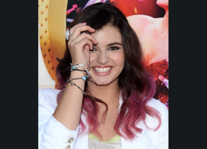 Ombre hair coloring - Rebecca Black