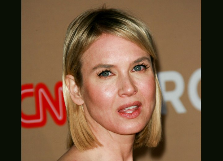 Renee Zellweger - Simple medium length hairstyle