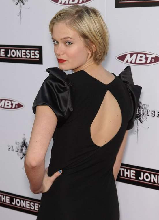 Sara Paxton With Short Hair Easy To Keep Short Hairstyle