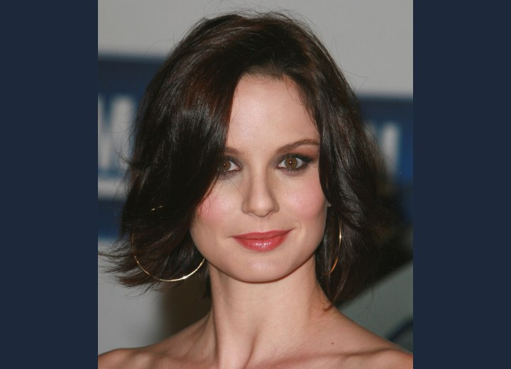 Easy medium length hairstyle - Sarah Wayne Callies