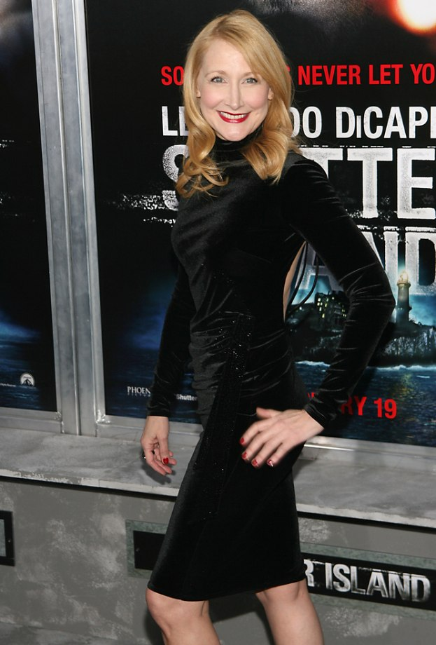 Patricia Clarkson S Long Hairstyle And Reddish Blonde Hair