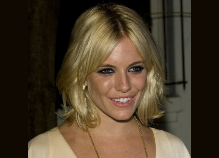 Sienna Miller - Medium length hairstyle