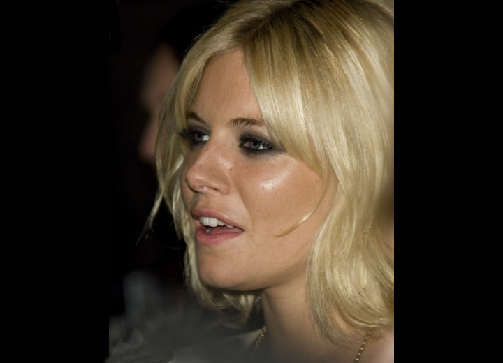 Sienna Miller's hair color