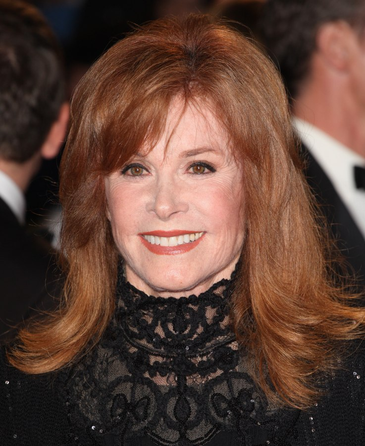 how to do hair like stefanie powers stefanie powers flattering long hairstyle for a 70 years