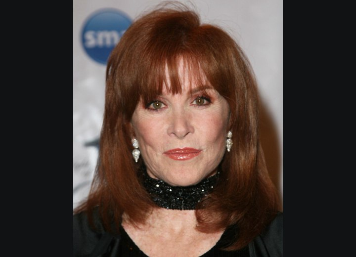 Hairstyle for 65 plus women - Stefanie Powers