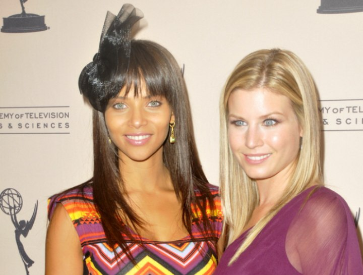 Denise Vasi and Stephanie Gatschet