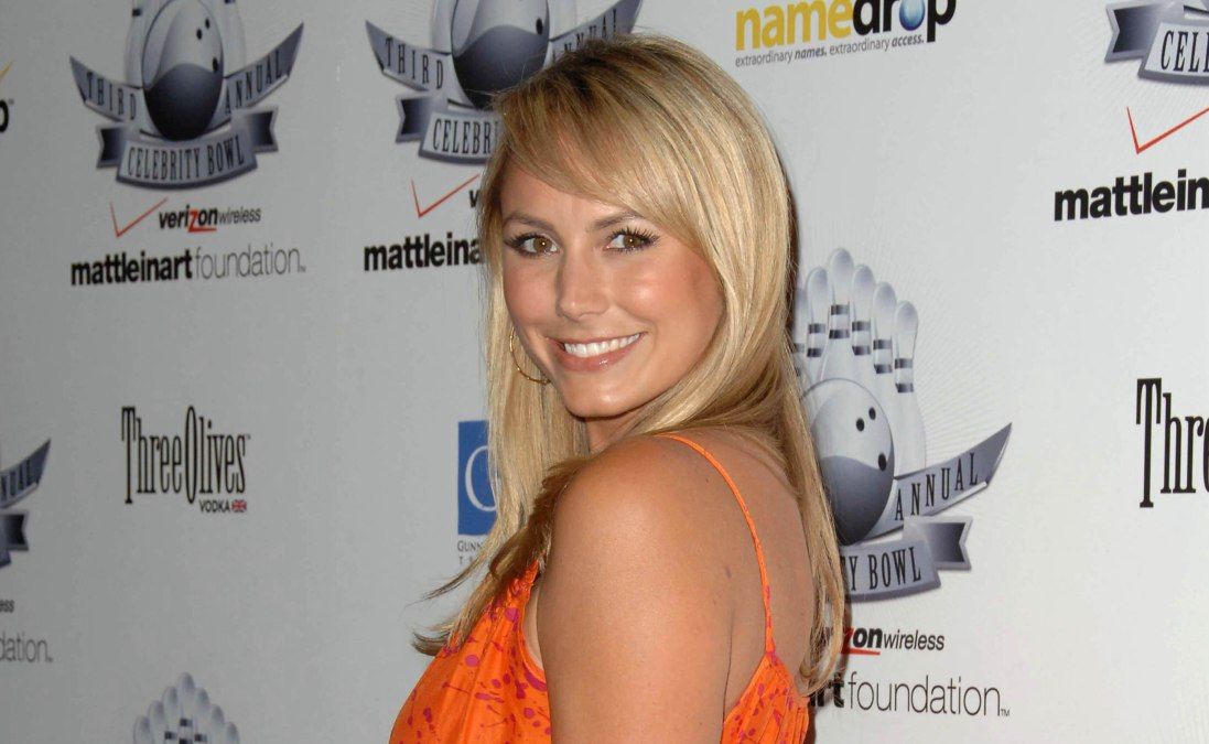 Stacy Keibler Long Blonde Healthy Looking Hair And Hazel
