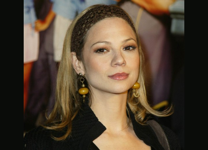 Hairstyle for high cheekbones - Tamara Braun
