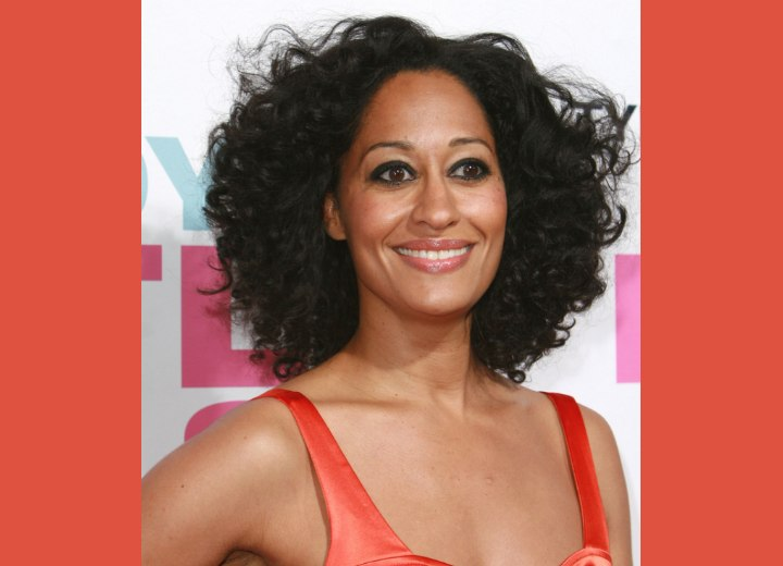 Hairstyle for African hair - Tracee Ellis Ross