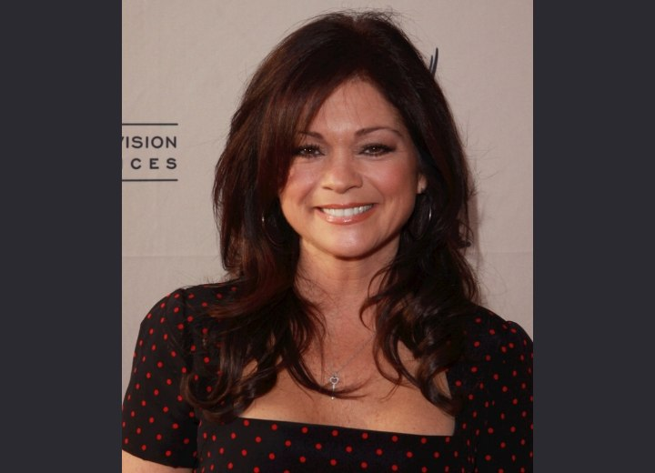 Long hairstyle for older women - Valerie Bertinelli