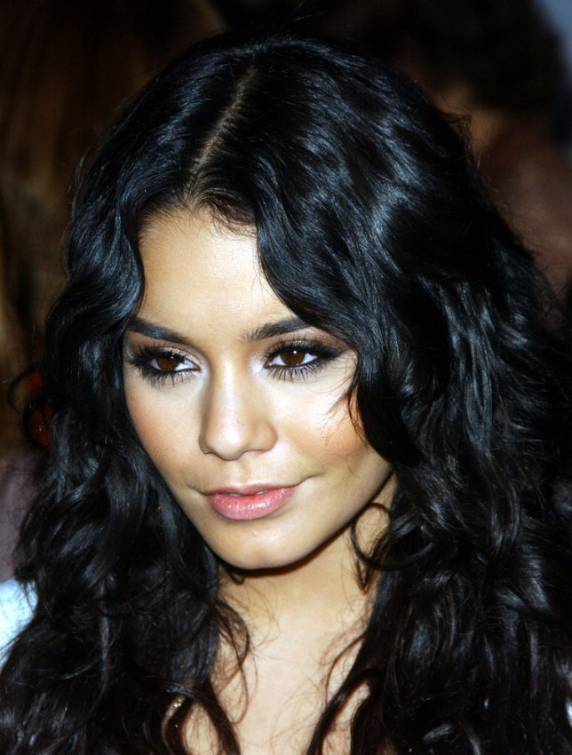 Vanessa Hudgens | Long wavy hairstyle with gypsy elements