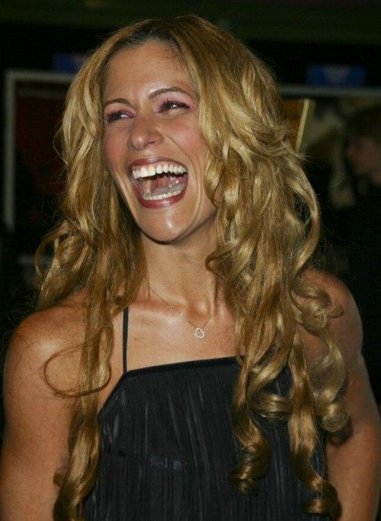Vanessa Parise Long Hair With Curls And A Medium Length Shag