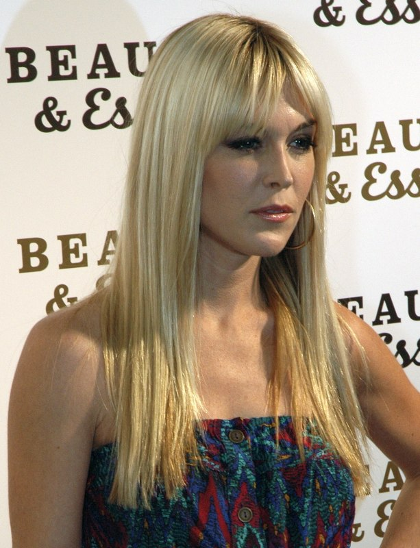 Tinsley Mortimer With Very Long Naturally Straight Hair And With Curls