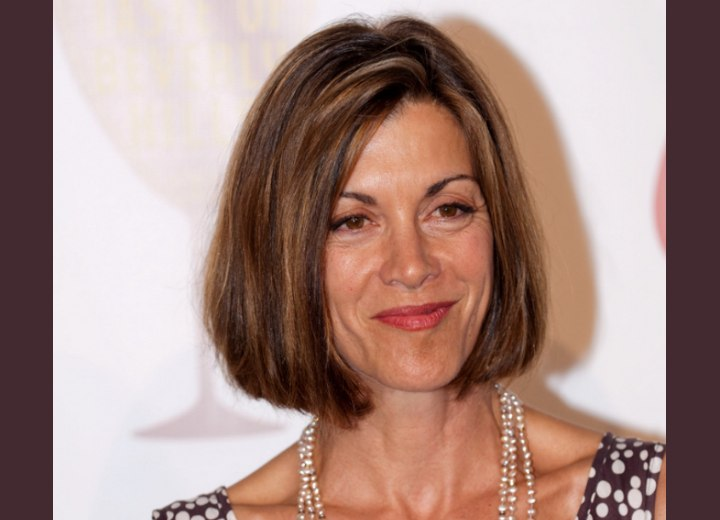 Hairstyle for mature women - Wendie Malick