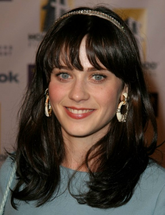 Celebrity Hairstyles: Zooey Deschanel Hairstyles