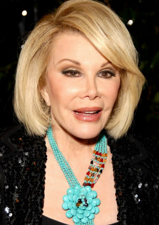 joan rivers hair style profile picture of joan rivers bob haircut with a slight 1442