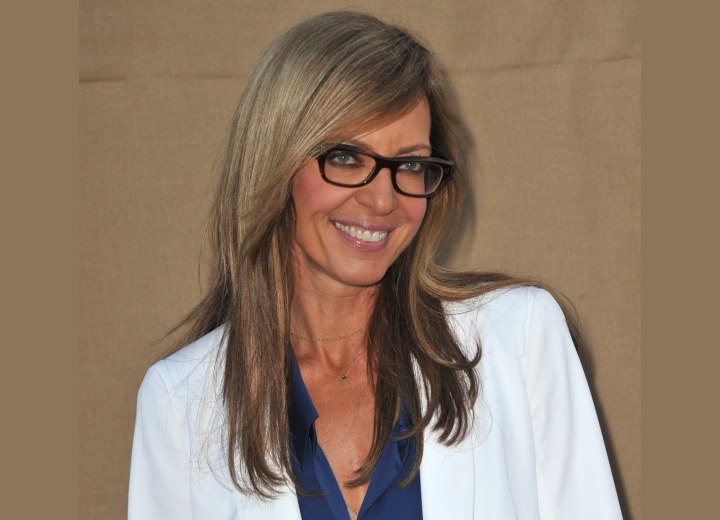 Allison Janney - Long hairstyle for women aged over 50