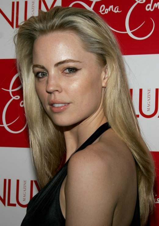 Melissa George S Sleek Long Hair With Airy Lift Around The