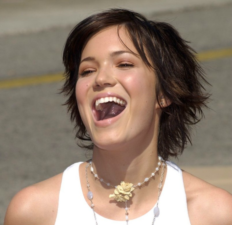 Mandy Moore Pixie Back View | Short Hairstyle 2013