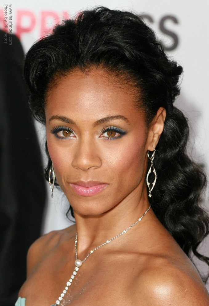 How To Imitate Jada Pinkett Smith S Elegant Hair Style