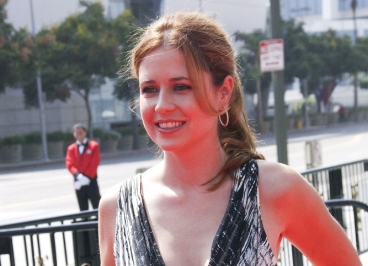 Jenna Fischer's natural hair color