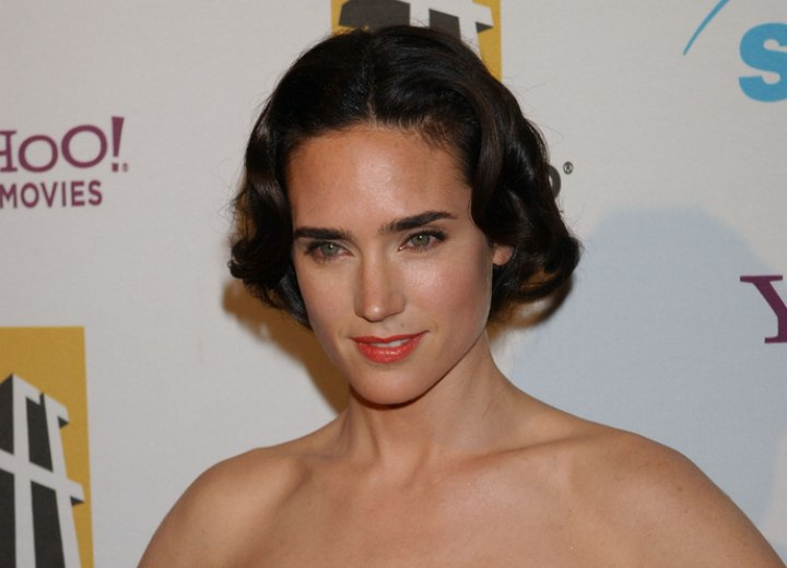 1920s inspired hairstyle - Jennifer Connelly
