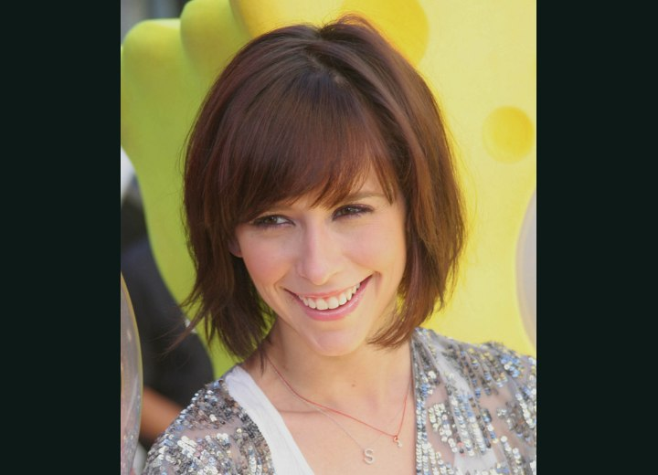 Hairstyle for a heart shaped face - Jennifer Love Hewitt