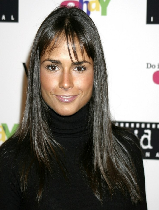 Jordana Brewster With Long And Shiny Black Hair