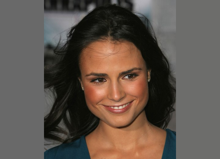 Jordana Brewster's forehead and hairline