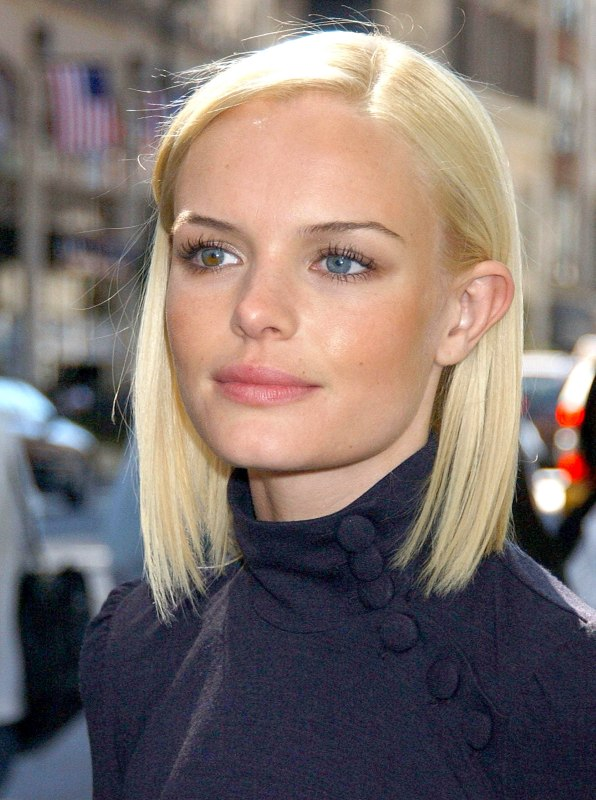 Kate Bosworth Wearing Her Hair In A One Length Bob