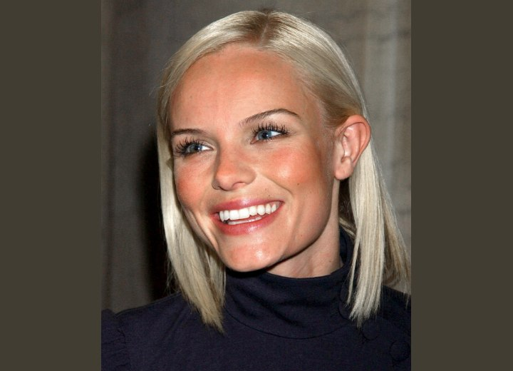 Kate Bosworth - Smooth medium length hairstyle