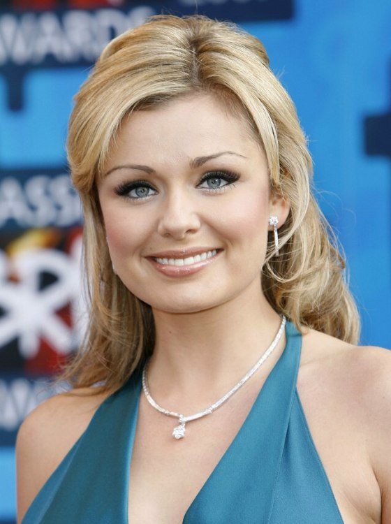 Rachael Taylor Katherine Jenkins Coils And Curls From
