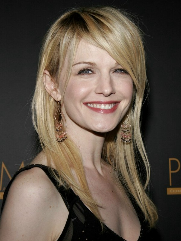 Kathryn Morris Wearing Hair Extensions